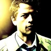 Castiel foto possibly with a judge advocate and a portrait called The Song Remains the Same