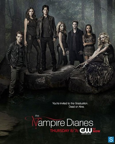 The Vampire Diaries - Season 4 Finale - Promotional Poster