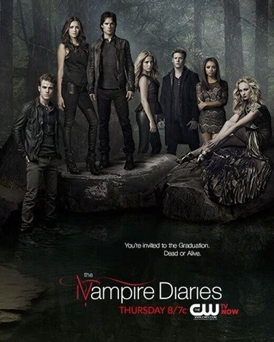 Дневники вампира Обои titled The Vampire Diaries season 4 episode 23 promo poster