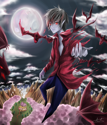The Vampire King marshall lee