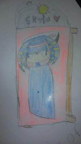 Thinking of Papa (One of Aqua and Kunra's kids, Skyla)