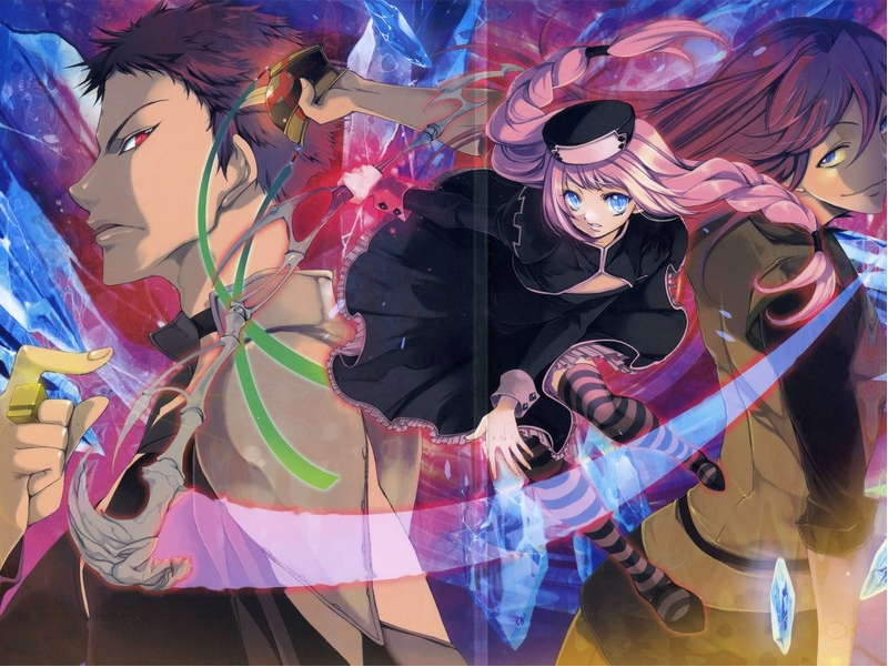 The legend of the legendary heroes images three siblings hd wallpaper