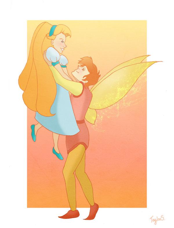 Thumbelina and Cornelius