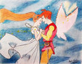 Thumbelina and Cornelius - thumbelina fan art