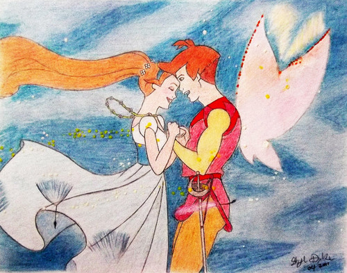 Thumbelina wallpaper possibly with anime entitled Thumbelina and Cornelius