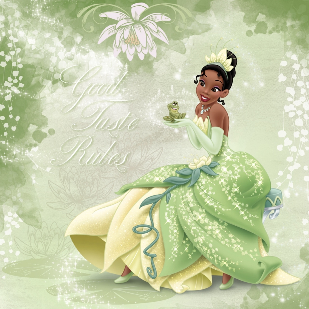 This is a graphic of Peaceful Picture of Tiana