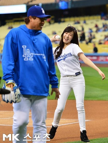 Tiffany LA Dodgers Game