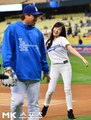 Tiffany LA Dodgers Game - girls-generation-snsd photo