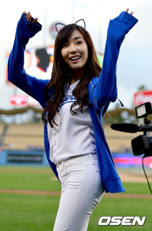 Tiffany LA Dodgers Game