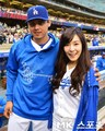 Tiffany Throws First Pitch for LA Dodgers - girls-generation-snsd photo