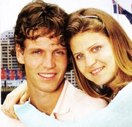 Tomas Berdych and Lucie Safarova