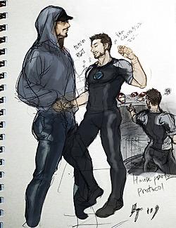 Tony Stark: پرستار Art