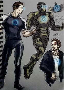 Tony Stark: ファン Art