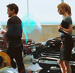 Tony and Pepper ♥