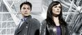 Torchwood - Gwen & Jack - john-barrowman photo