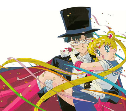 Tuxedo Mask & Sailor Moon