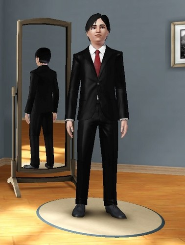 Vincent in the Sims 3