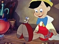 Walt Disney Screencaps - Jiminy Cricket & Pinocchio - walt-disney-characters photo