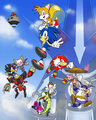 We're Sonic Heroes - sonic-the-hedgehog fan art