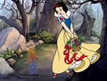 When I was a child (Snow White/Anne Marie) - disney-crossover photo