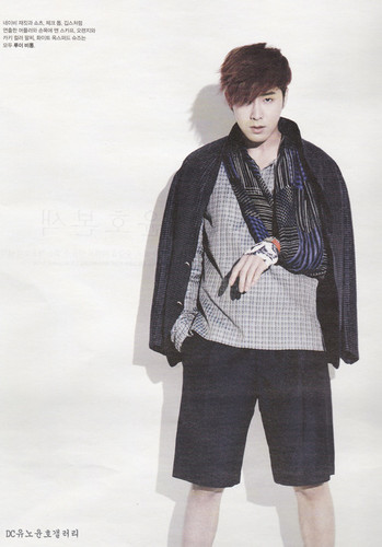 Yunho in High Cut Vol.102
