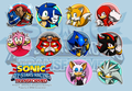 all stars transformed sticker concept 01 - sonic-the-hedgehog fan art