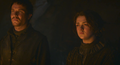 arya and gendry - house-stark photo
