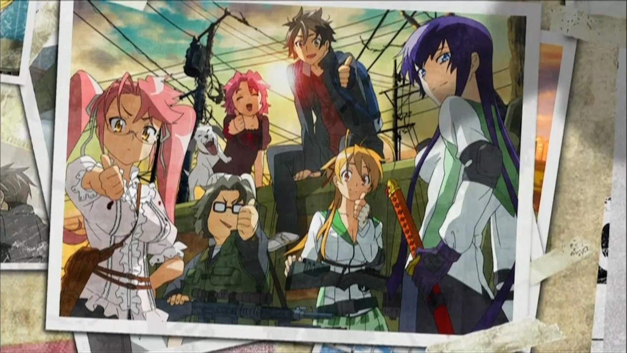HIGHSCHOOL OF THE DEADのみんな
