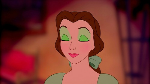 belle's green look