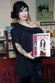 book signing at Barnes &amp; Noble in Philadelphia 2013 - kat-von-d photo