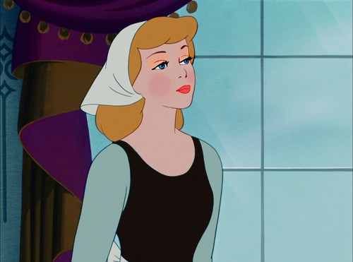 cinderella's cheeky look