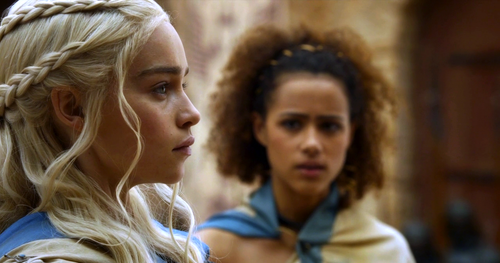 dany and missandei