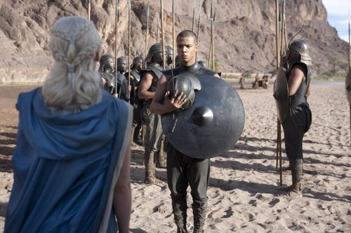 dany and unsullied