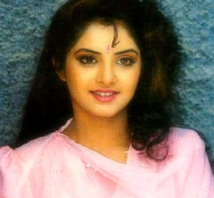 迪维亚·巴蒂(divya_bharti) 壁纸 with a portrait called divya