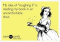 eCard - reading photo
