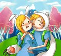 finn and fionna - adventure-time-with-finn-and-jake photo