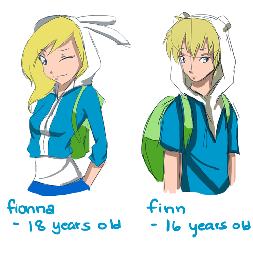 Fiolee (Fionna et Marshal Lee) fond d'écran with animé called finn and fionna