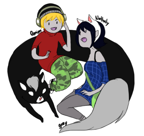 Fiolee (Fionna e Marshal Lee) wallpaper probably containing Anime entitled fiolee- children