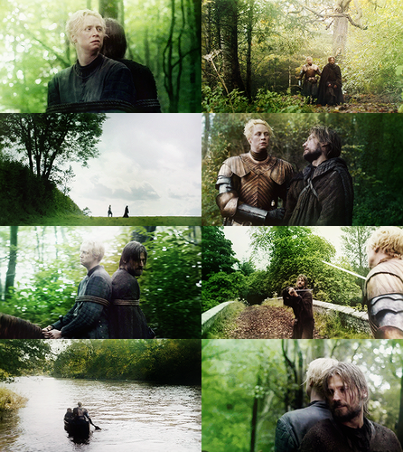Brienne of Tarth & Jaime Lannister - Green