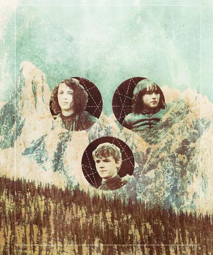Meera, Jojen & Bran