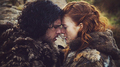 Jon Snow &amp; Ygritte - game-of-thrones fan art