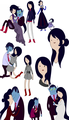idea of marceline's mom sketches