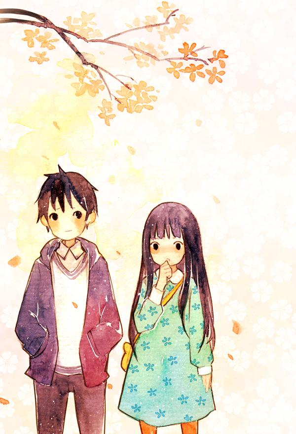 Kimi Ni Todoke Hintergrund With Anime Titled