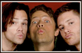 kisses to fans  - supernatural photo