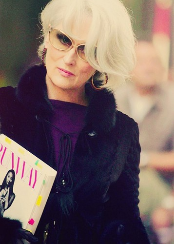 The Devil Wears Prada wallpaper possibly containing sunglasses called miranda