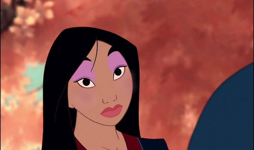 mulan's welcome-home look