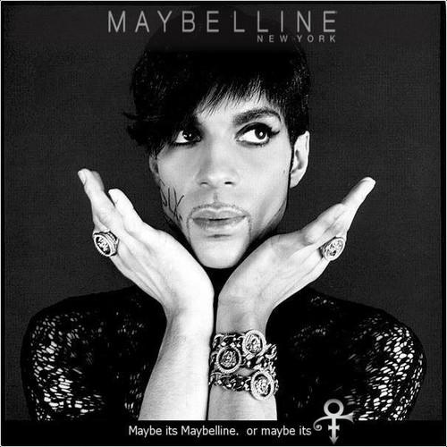 Princce Maybelline ad