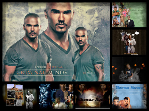 Shemar Moore 壁紙 with アニメ entitled ritas ウォール
