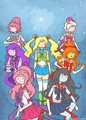 sailor princesses - adventure-time-with-finn-and-jake photo