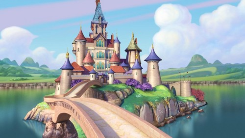 Sofia The First wallpaper titled sofia castle